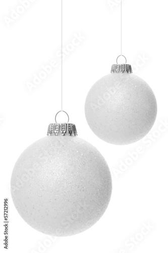 Weihnachtskugeln Weiß.Weiße Weihnachtskugeln Stock Photo And Royalty Free Images On