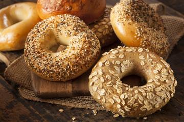 Healthy Organic Whole Grain Bagel