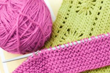 Hand knitwork