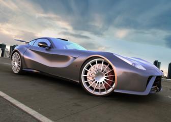 nonimous modern sport car