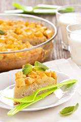 Savoury cake with potatoes