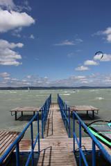 ocean, pier