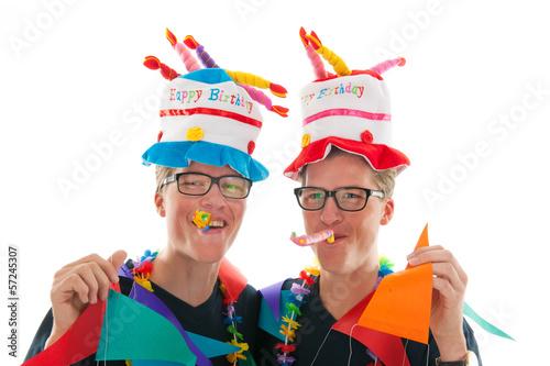 Поздравления с днем рождения близнецам мужчинам