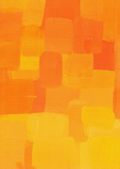 Orange texture with colorful strokes