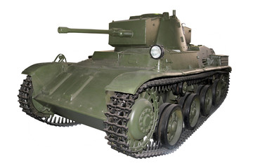 old green light tank