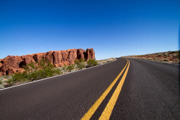 Amerikanische Straße Natur