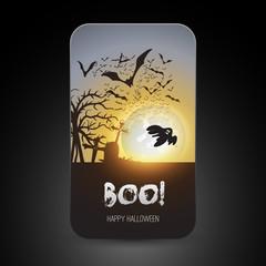 Halloween Greeting Card Design