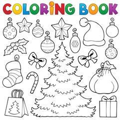 Coloring book Christmas decor 1
