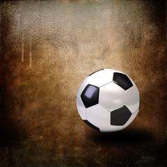 sport ball over grunge background