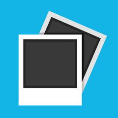 Vector Polaroid Photo Frames Icon