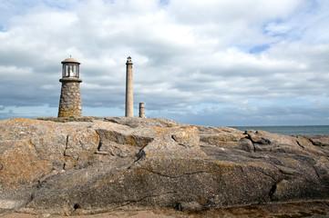 Fototapete - Panorama du phare de Gatteville-Barfleur