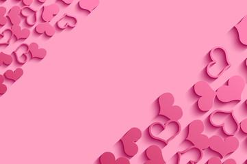 Valentine Background With Heart.