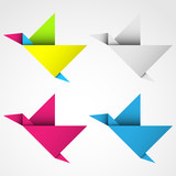 Логотип из оригами