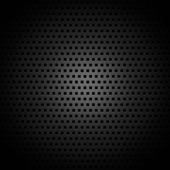 Black square pattern texture or background