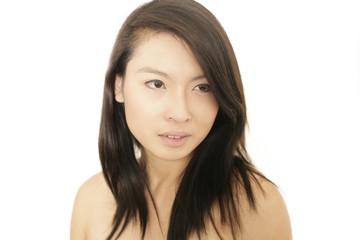 Asiatisches Model