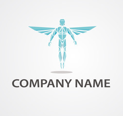 Logo with chiropractor