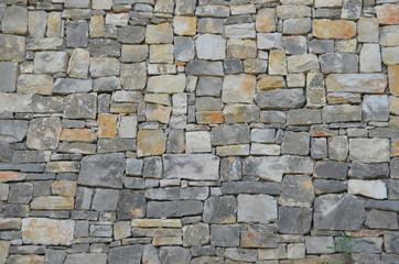 Obraz Ściana, tekstura, kamienie - fototapety do salonu
