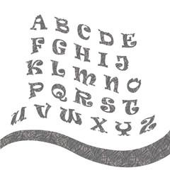 grey alphabet