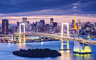 Photo sur Aluminium Tokyo Tokyo Bay
