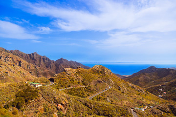 Mountains in Tenerife island - Canary