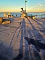 Early Morning Redondo Beach Pier Los Angeles California USA