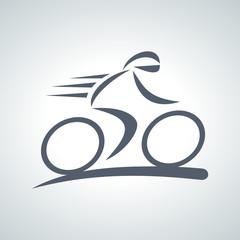 Fototapete - bicycle logo 2013_10 - 03