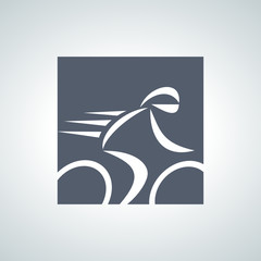 Fototapete - bicycle logo 2013_10 - 04