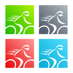 Fototapete - bicycle logo 2013_10 - 05