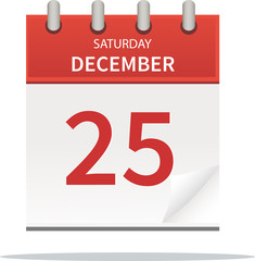 25. december calendar