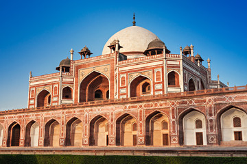 Foto op Plexiglas Delhi Humayuns Tomb