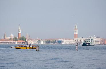 Venice across the Lagoon