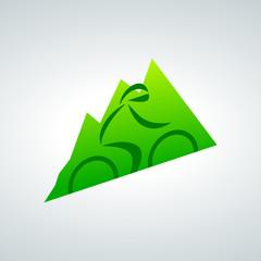 Fototapete - bicycle logo 2013_10 - 06