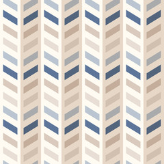 Photo sur Toile ZigZag Fashion abstract chevron pattern