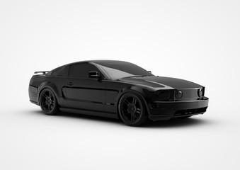 black toycar