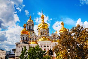 Poster Kiev Kiev Pechersk Lavra monastery in Kiev, Ukraine