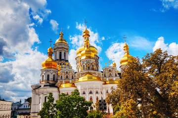 Foto op Aluminium Kiev Kiev Pechersk Lavra monastery in Kiev, Ukraine