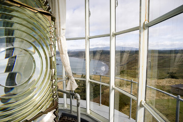 Lighthouse Top Tower Windows Glass Fresnel Magnifying Lens