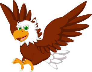 Cute Eagle cartoon