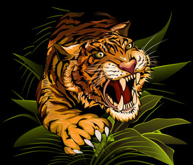 The Hunting Tiger