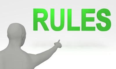 Regel Hinweis