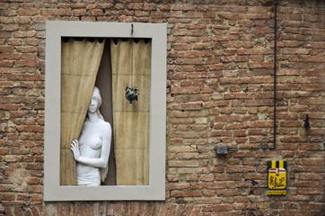 Finestra artistica, Siena