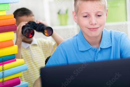 older spying
