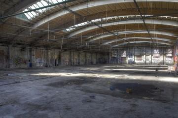 Wall Mural - Verlassene Halle