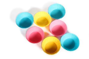 pastel cupcake holders