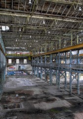Wall Mural - Insolvente Fabrik