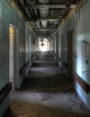 Verlassenes Kinderkrankenhaus