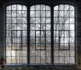 Wall Mural - Old window