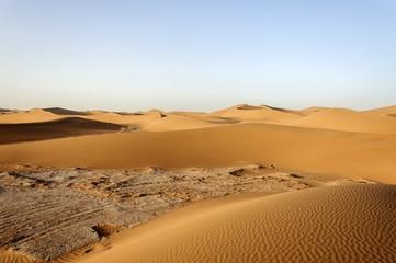 Dunes, Hamada du Draa, Morocco