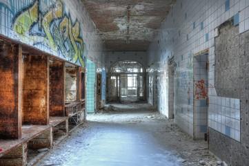 Keuken foto achterwand Oud Ziekenhuis Beelitz Lobby of the operating room
