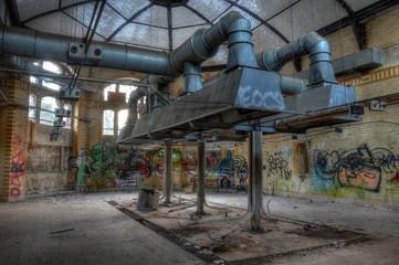 Keuken foto achterwand Oud Ziekenhuis Beelitz Alte Küche in den Heilstätten in Beelitz